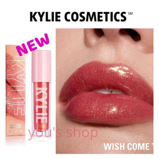 Kylie Cosmetics - ♡NEWカラー ♡新品♡正規品♡カイリーコスメ◆ハイグロス◆WISH COME