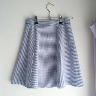 ユニクロ(UNIQLO)のストライプスカート (ミニスカート)