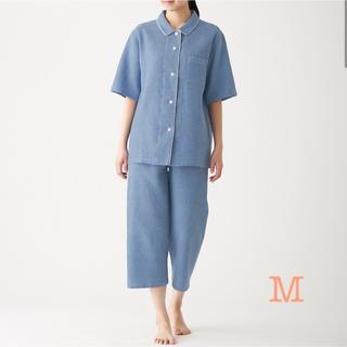 ムジルシリョウヒン(MUJI (無印良品))の無印良品   脇に縫い目のない ワッフル織り半袖パジャマ 2点  他(パジャマ)