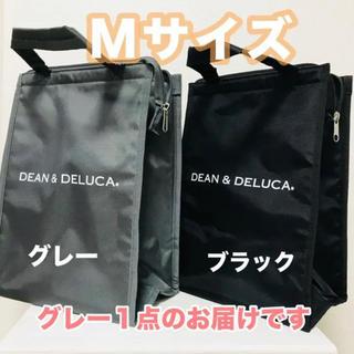 ディーンアンドデルーカ(DEAN & DELUCA)のグレー DEAN&DELUCA保冷バッグMエコバッグ トートバッグクーラーバッグ(エコバッグ)