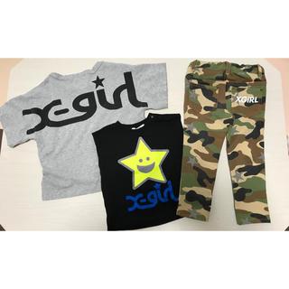 エックスガールステージス(X-girl Stages)のトップス パンツ 3枚セット(Tシャツ/カットソー)
