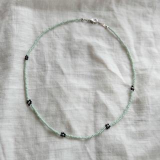 スタイルナンダ(STYLENANDA)の 𑁍ビーズネックレス𑁍blue(ネックレス)
