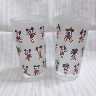 Disney - ❤︎未使用❤︎ Disney/ミッキー&ミニーのペアグラス・タンブラー