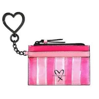 ヴィクトリアズシークレット(Victoria's Secret)の☆Victorias Secret☆キーリング付カード&コインケース ヴィクシー(コインケース)