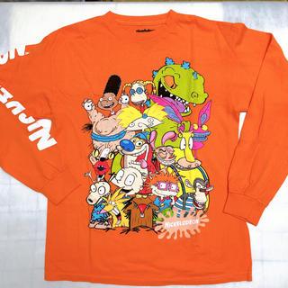 ディズニー(Disney)の☆ニコロデオン キャラクターロングTシャツ☆(Tシャツ/カットソー(七分/長袖))