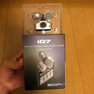 ズーム(Zoom)のzoom iq7 (マイク)