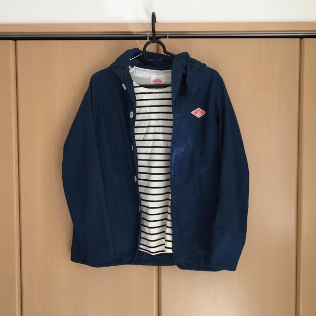 DANTON(ダントン)のダントン♡パーカーブルゾン♡サイズ34 レディースのジャケット/アウター(ブルゾン)の商品写真