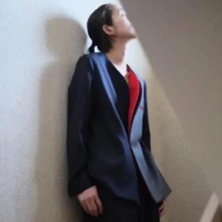 Yohji Yamamoto - ka na ta 二重ラペルジャケット