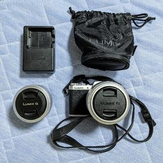 Panasonic - LUMIX-GF7 単焦点レンズ望遠レンズ付