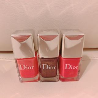 クリスチャンディオール(Christian Dior)のディオール ヴェルニ ⭐︎3本セット ネイル エナメル(マニキュア)