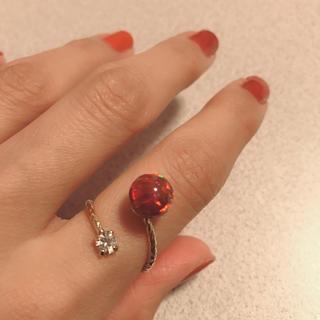 キワセイサクジョ(貴和製作所)の京都オパール フォークリング(リング(指輪))