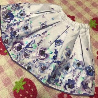 ANNA SUI mini - 新品タグ付き アナスイミニ フラワー スカート 水彩