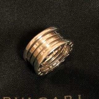 ブルガリ(BVLGARI)のブルガリリングB-zero1/K18Wg/750/#59(リング(指輪))