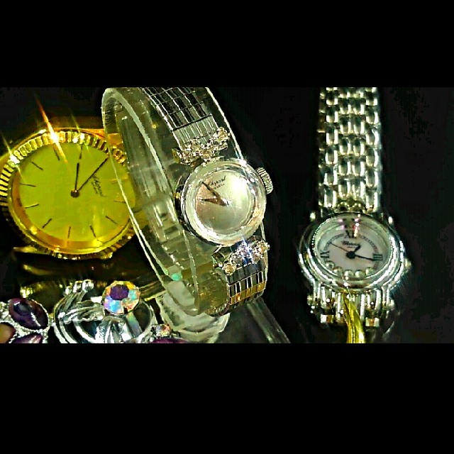 Chopard(ショパール)のChopard・1970's・vintage・watch レディースのワンピース(ひざ丈ワンピース)の商品写真