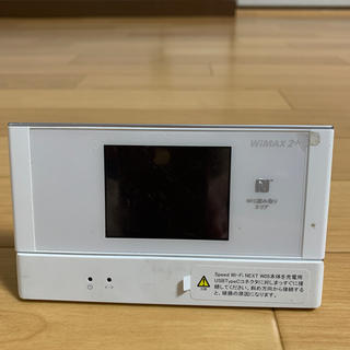 ラクテン(Rakuten)の【楽天 UN-LIMIT対応】W05 WiMAX2 Wi-Fi クレードル(その他)