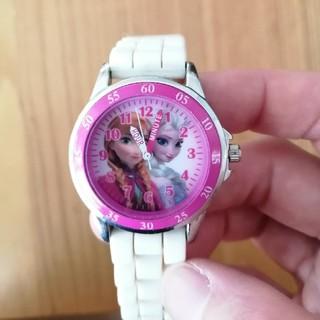 アナトユキノジョオウ(アナと雪の女王)の美品)アナと雪の女王 腕時計(腕時計)