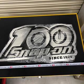 スナップオン 100周年  サインプレート