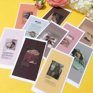 ロキエ(Lochie)の10個セット 韓国雑貨 装飾カード(写真/ポストカード)