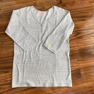 ハリウッドランチマーケット(HOLLYWOOD RANCH MARKET)のハリウッドランチマーケット  七分袖  サイズ3 グレー(Tシャツ/カットソー(七分/長袖))