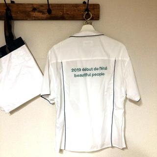 ビューティフルピープル(beautiful people)の極美品☆beautiful people☆オープンカラーシャツ半袖シャツ(シャツ/ブラウス(半袖/袖なし))