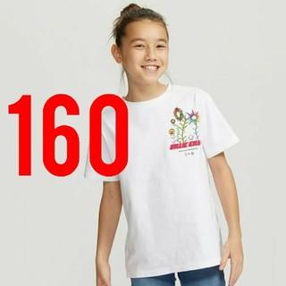 ユニクロ(UNIQLO)のユニクロ×ビリー・アイリッシュ×村上隆      Tシャツ  160cm(Tシャツ(半袖/袖なし))
