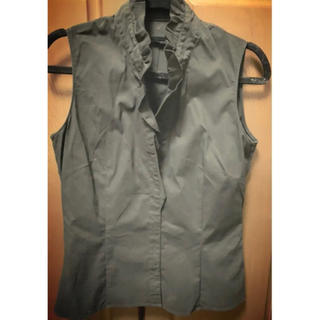プロポーションボディドレッシング(PROPORTION BODY DRESSING)のプロポーションボディドレッシング ブラウスシャツ ブラック(シャツ/ブラウス(半袖/袖なし))