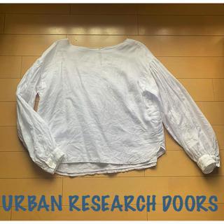 ドアーズ(DOORS / URBAN RESEARCH)のURBAN RESEARCH DOORS 麻混ブラウス(シャツ/ブラウス(長袖/七分))