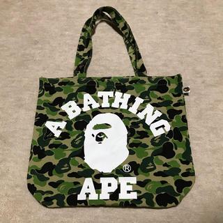 アベイシングエイプ(A BATHING APE)の【APE】トートバッグ(トートバッグ)