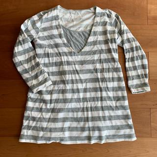 MUJI (無印良品) - 無印良品 授乳服 マタニティ服 長袖