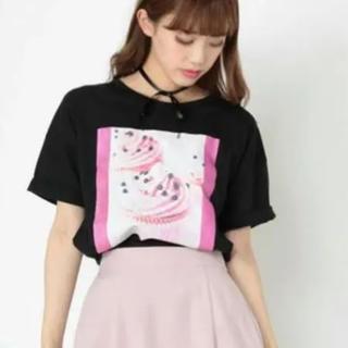 アンクルージュ(Ank Rouge)のAnk Rouge   カップケーキ Tシャツ (M) アンクルージュ(Tシャツ(半袖/袖なし))