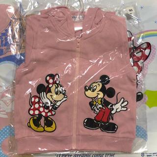 ディズニー(Disney)の新品♡ チームディズニー  パーカー  90 ディズニーリゾート(ジャケット/上着)