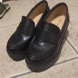 リズリサ(LIZ LISA)のLIZ LISA ローファー ブラック(ローファー/革靴)