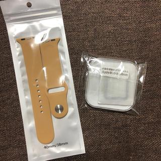 アップルウォッチ(Apple Watch)のApple Watch  ベルト ガラスフィルム セット(腕時計(デジタル))