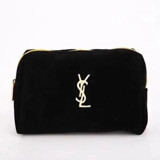 Yves Saint Laurent Beaute - 新品 小物入れコスメポーチ イブサンローラン ベロア ポーチ