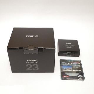 フジフイルム(富士フイルム)のFUJIFILM フジノンレンズ XF23mm F1.4 R + LH-XF23(レンズ(単焦点))