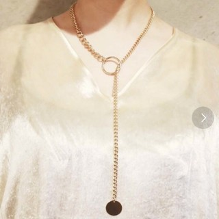 ジーヴィジーヴィ(G.V.G.V.)のG.V.G.V DOUBLE CHAIN NECKLACE(ネックレス)