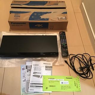 パナソニック(Panasonic)のパナソニック DMR-BRW1060 ブラック(DVDレコーダー)