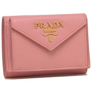 プラダ(PRADA)の新品未使用 PETALO  プラダ 三つ折り財布 新作 PRADA レディースr(折り財布)
