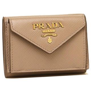 プラダ(PRADA)の新品未使用 CIPRIA プラダ 三つ折り財布 新作 PRADA レディースr(折り財布)