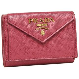 プラダ(PRADA)の新品未使用 PEONIA プラダ 三つ折り財布 新作 PRADA レディースr(折り財布)