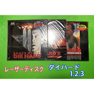 レーザーディスク ダイハード 1.2.3(外国映画)