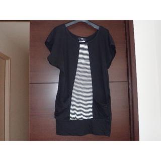 アズールバイマウジー(AZUL by moussy)のアズールバイマウジー 半袖 チュニック Tシャツ フリーサイズ(チュニック)