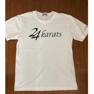 ゴールドトゥエンティーフォーカラッツディガーズ(GOLD 24karats Diggers)の24karats  Lサイズ Tシャツ 正規品(ミュージシャン)