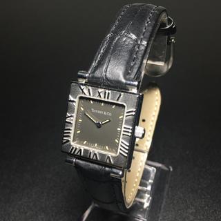 Tiffany & Co. - 【美品 正規品】ティファニー 腕時計 アトラス スクエア レディース 可動品