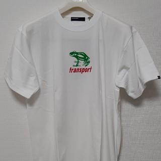 グッドイナフ(GOODENOUGH)の【新品未使用】TRANSPORT カエルT シャツ白L サイズ(シャツ)