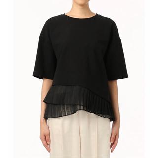 グレースコンチネンタル(GRACE CONTINENTAL)の20SS ヘムプリーツカットトップ⭐️(Tシャツ/カットソー(半袖/袖なし))