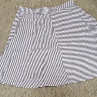 ユニクロ(UNIQLO)のミニスカート フレアスカート (ミニスカート)
