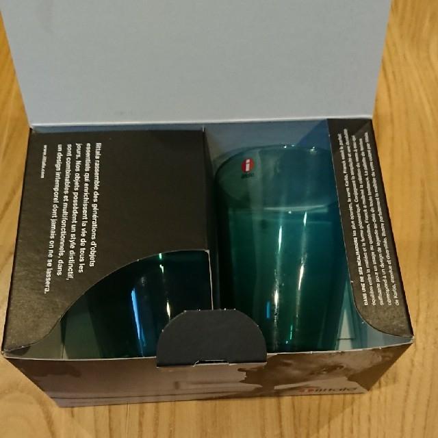 iittala(イッタラ)のイッタラ カルティオ タンブラー 40clシーブルー 二個セット 新品未使用 インテリア/住まい/日用品のキッチン/食器(タンブラー)の商品写真