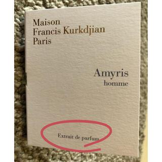 メゾンフランシスクルジャン(Maison Francis Kurkdjian)のアミリス オム エキストレ ドゥ パルファム(その他)