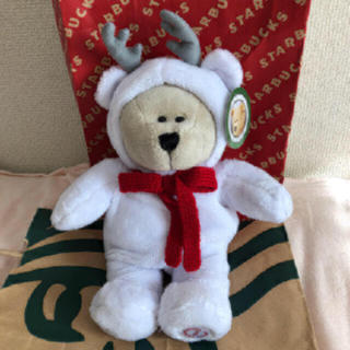 スターバックスコーヒー(Starbucks Coffee)のスタバ ホリデー2019 ベアリスタボーイ クリスマスぬいぐるみ(ぬいぐるみ)